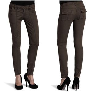 7 For All Mankind Seamed Utility Skinny Jean
